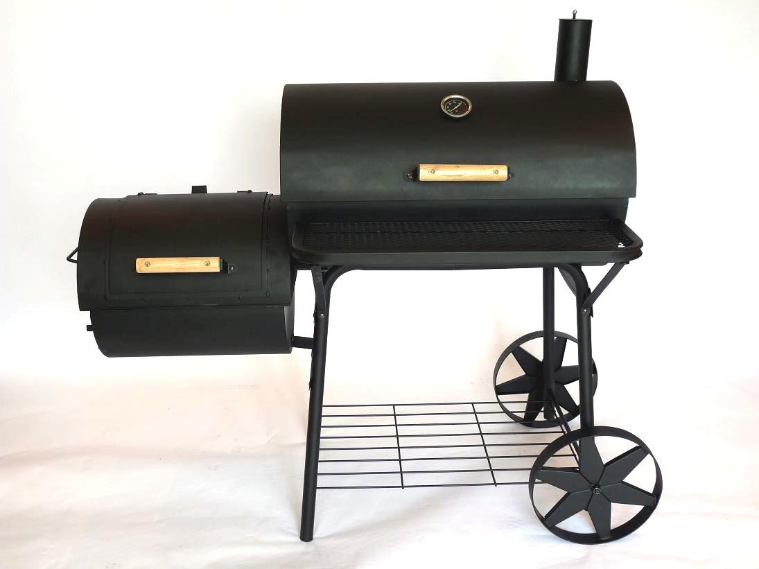wood burning or charcoal mobile grills autos post. Black Bedroom Furniture Sets. Home Design Ideas
