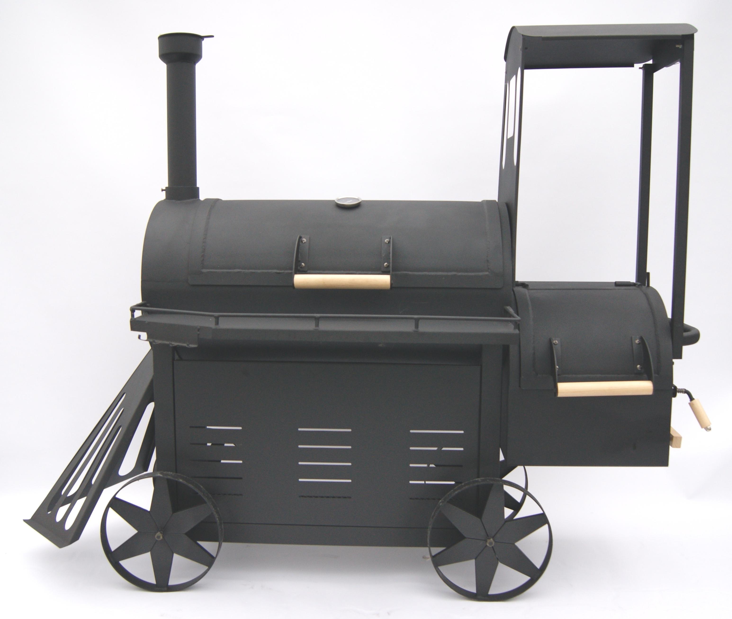smoker grillwagen lokomotive emma monster grill. Black Bedroom Furniture Sets. Home Design Ideas
