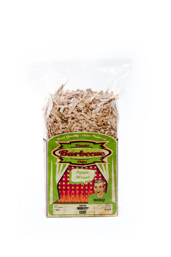 Räucherhölzer, Smoking Woodchips, Sorte: Apple Wood