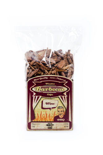 Räucherhölzer Smoking Woodchips, Sorte Wine